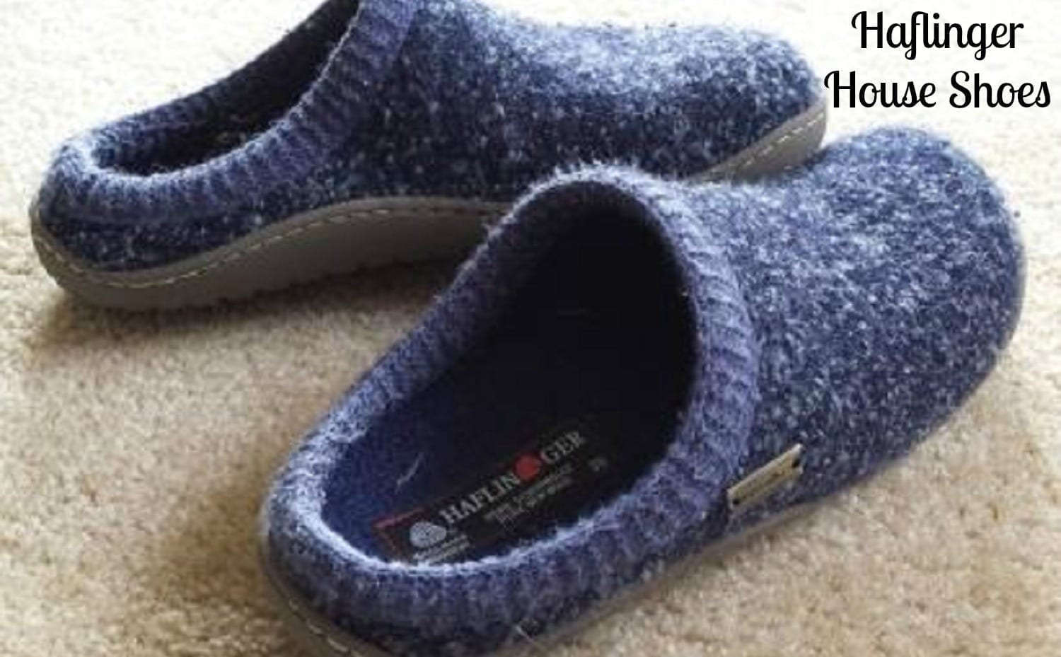 Haflinger House Shoes-  German Hausschuhe to Keep Your Feet Warm