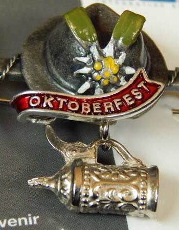 Beer Stein Oktoberfest Hat Pin