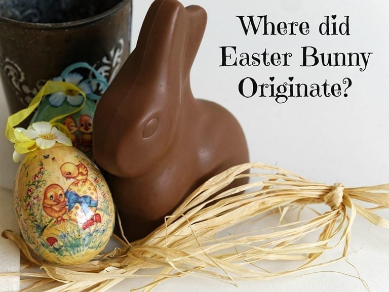 Where did Easter Bunny Originate? In Germany, of Course! Read More HERE!