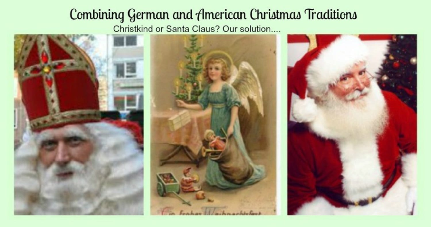 german and american christmas traditions
