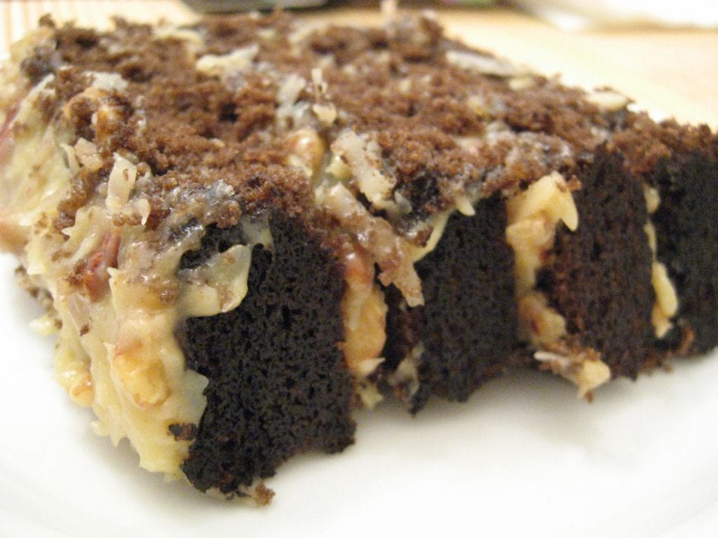 is german chocolate cake german