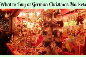 what to buy at a german christmas market