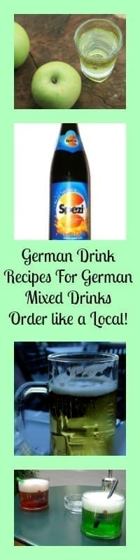 german drink recipes