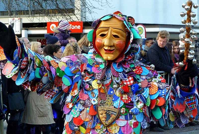 The Maschkera… The Story Behind the German Fasching Masks