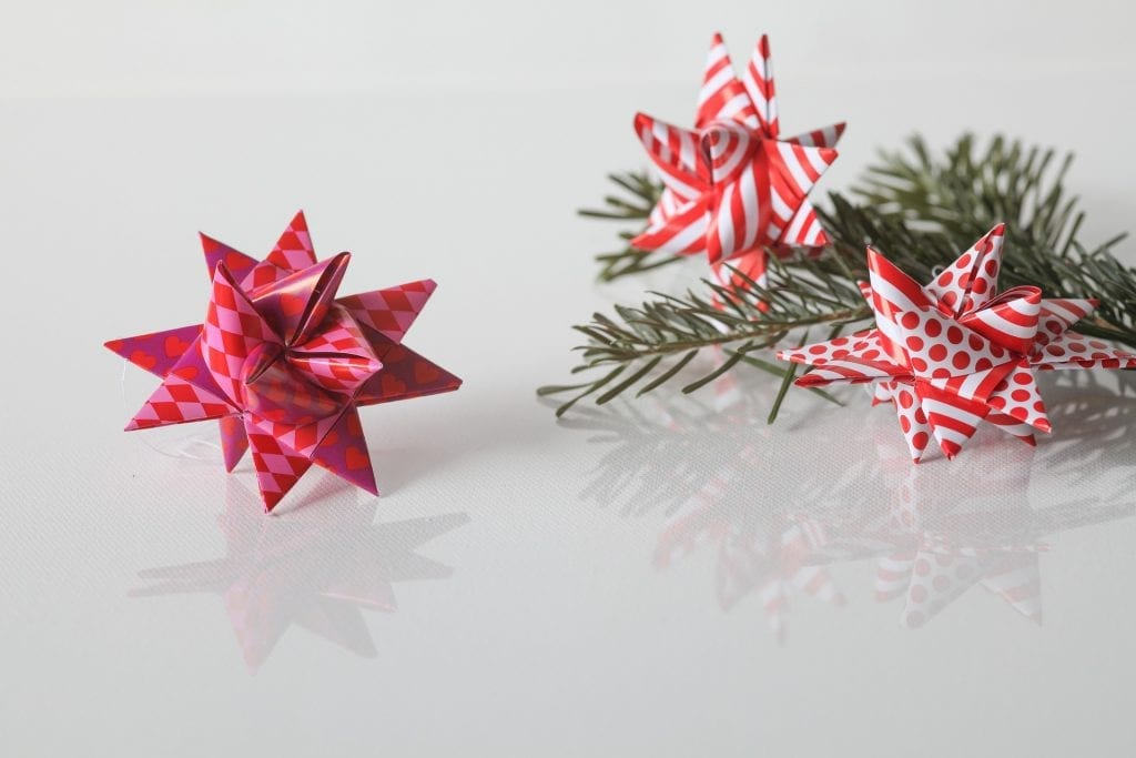 Easy Origami star. 3D Paper star 6 point. Ideas for Christmas ... | 683x1024