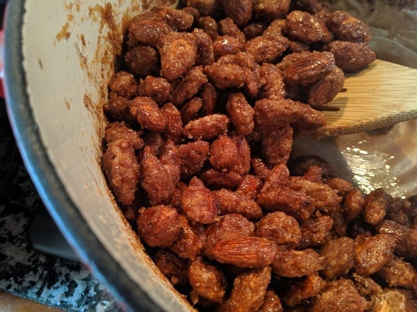 german roasted almonds recipe