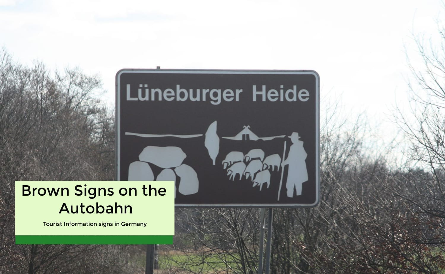 Brown Signs on the Autobahn- Tourist Attractions in Germany